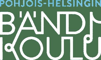 bändikoulu-logo sinivalkoinen
